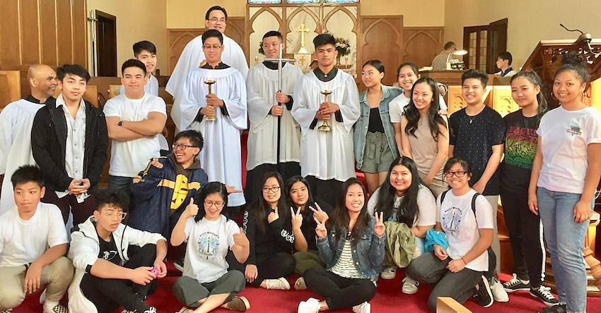 Group photo of the Youth Group
